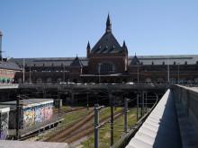 北欧インテリア&雑貨、ファブリックのルネ・デューブログ-コペンハーゲン中央駅外観
